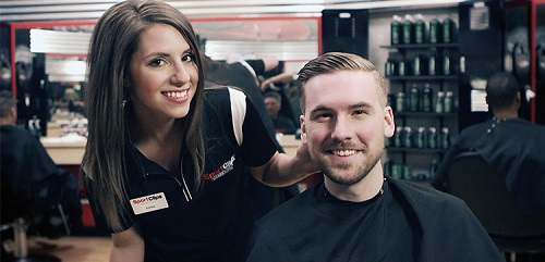 Sport Clips Haircuts of Champions​ stylist hair cut